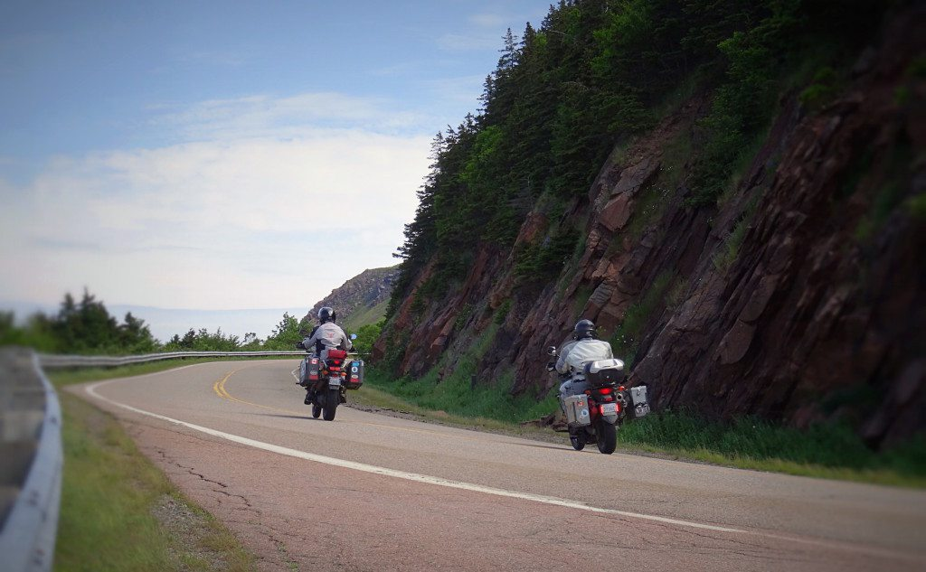 Mike and Jeff on the Cabot Trail