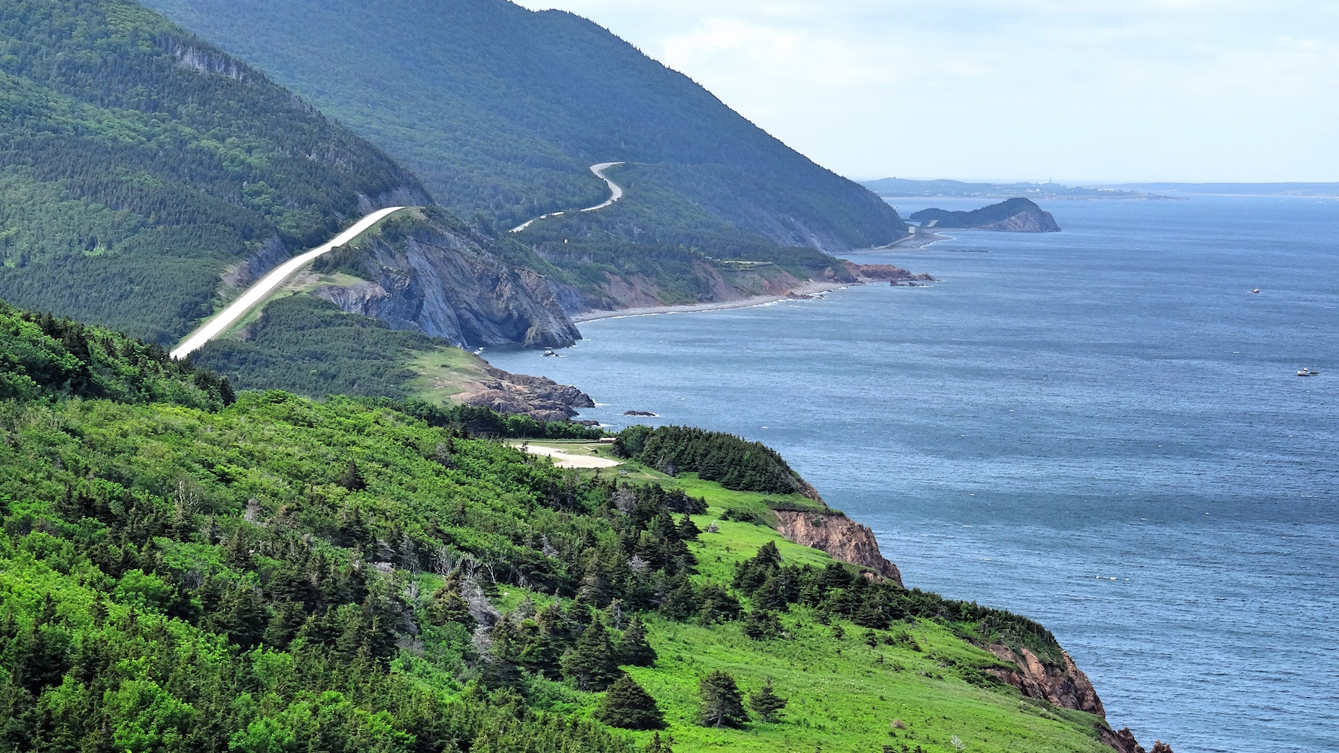 Riding the Cabot Trail