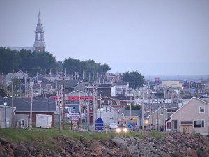 Cheticamp is an Acadian town with about 4,000 residents