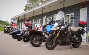The Cornerstone Motel is motorcycle friendly and located right at the entrance of the Cabot Trail