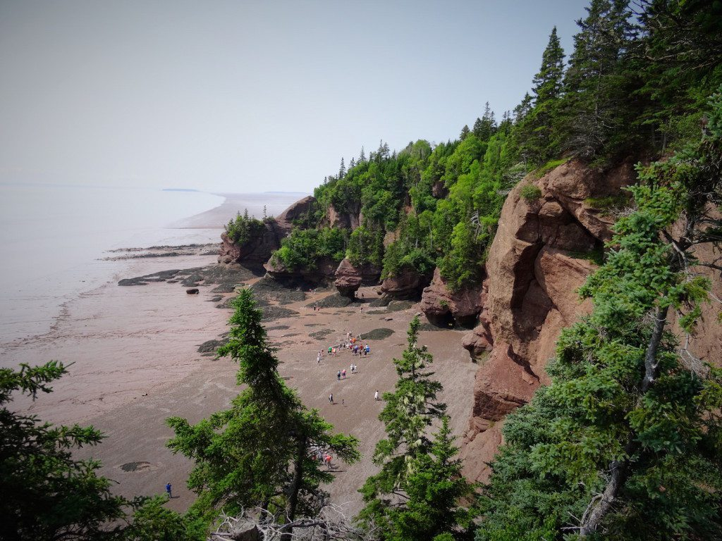Hopewell Rocks at the Bay of Fundy NB