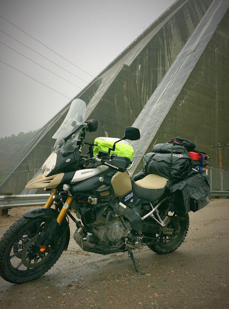 Shad Waterproof Bags Labrador Manic 5 hydro dam Baie Comeau