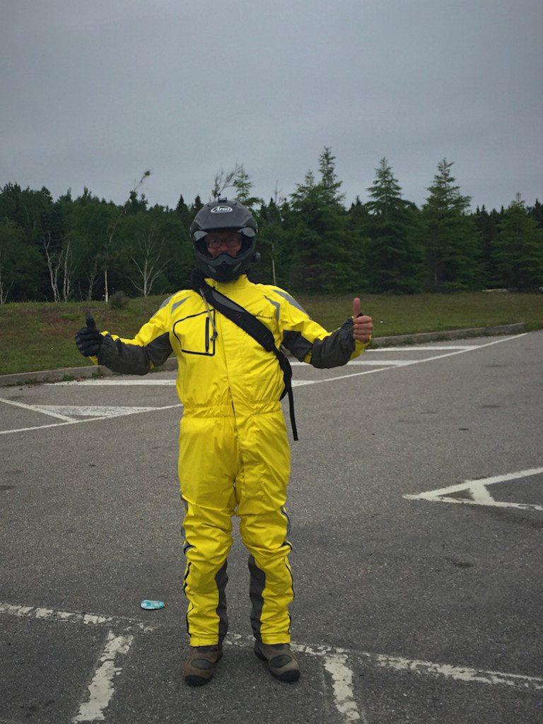 BMW Motorrad 1 piece rain gear