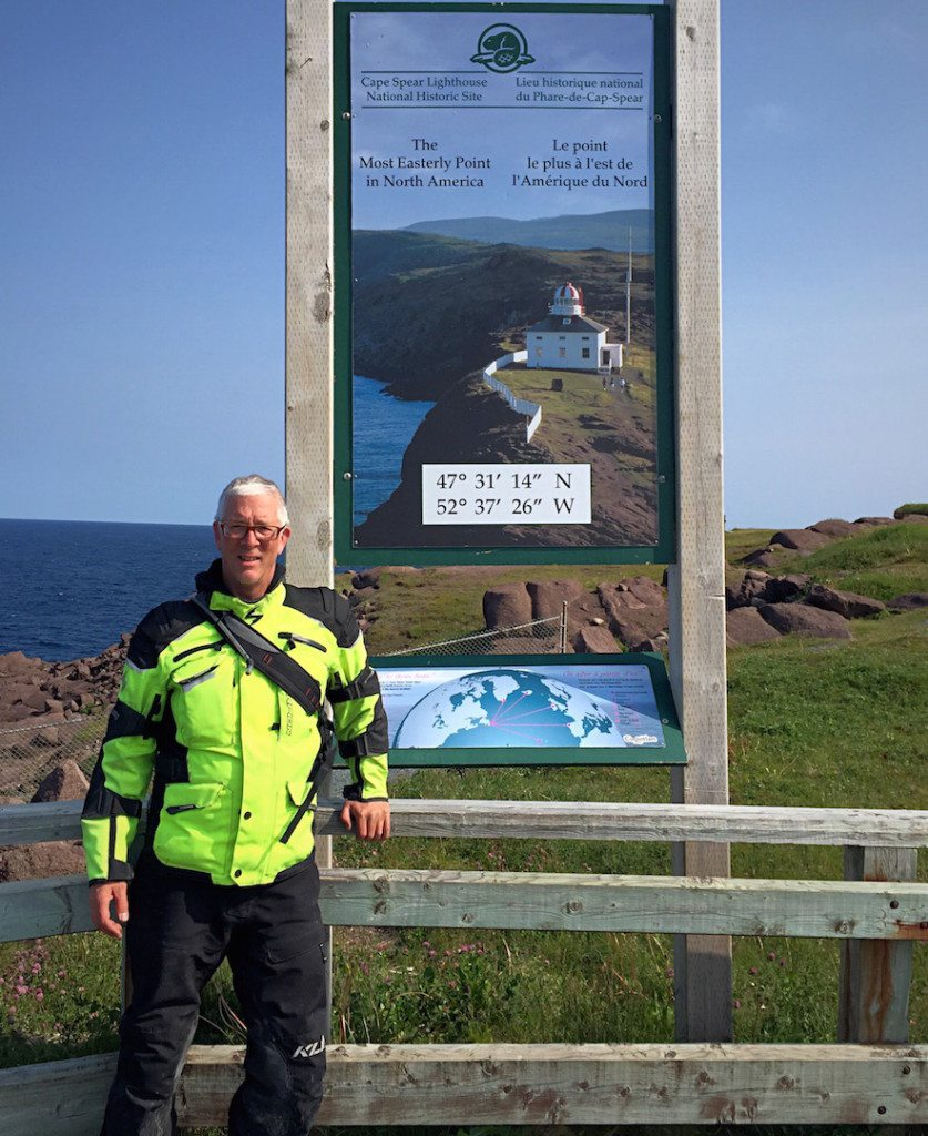 Yours truly at Cape Spear - the most easterly point in North America