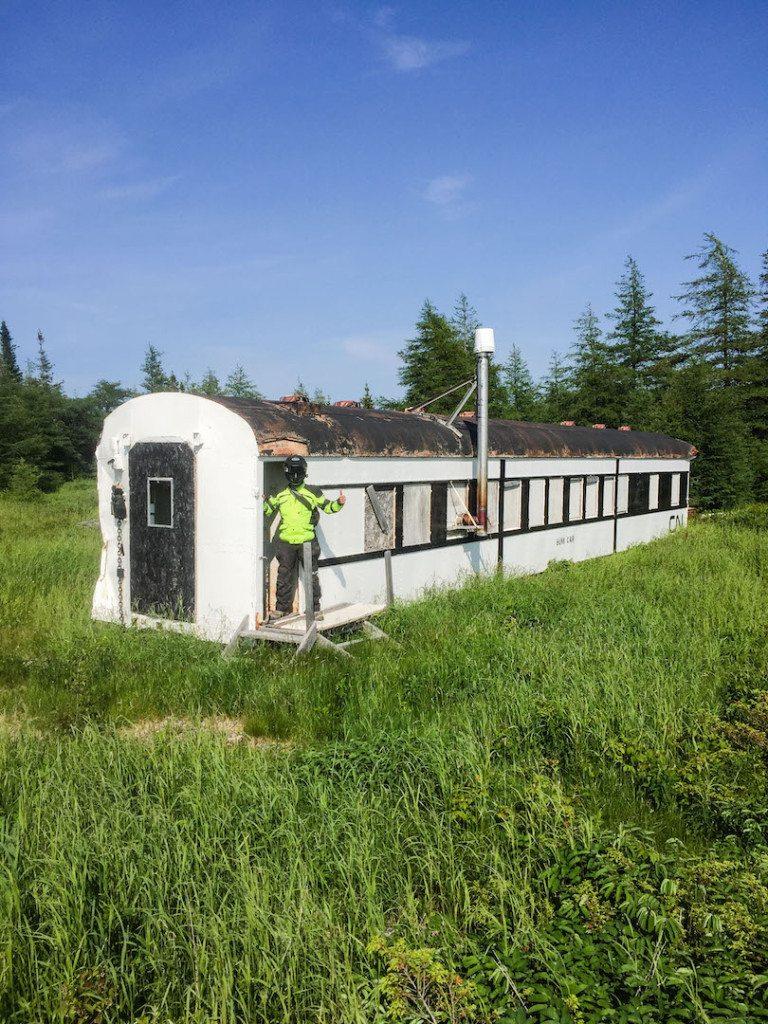 Gaff Topsail Trail CN car