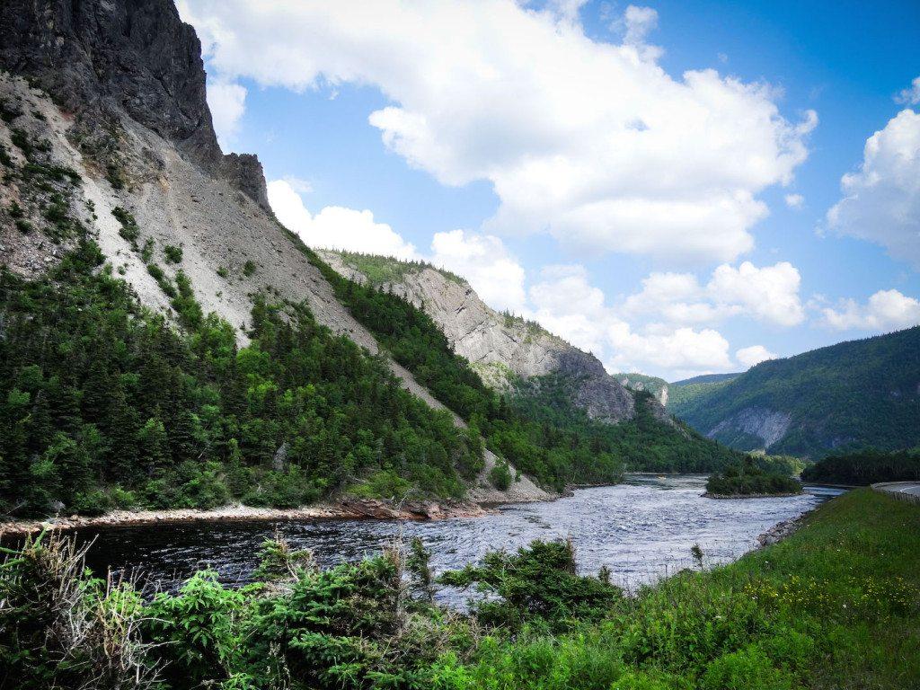 Humber River Near Cornerbrook Newfoundland