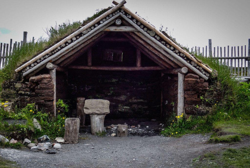 L'Ans aux Meadows blacksmith shop