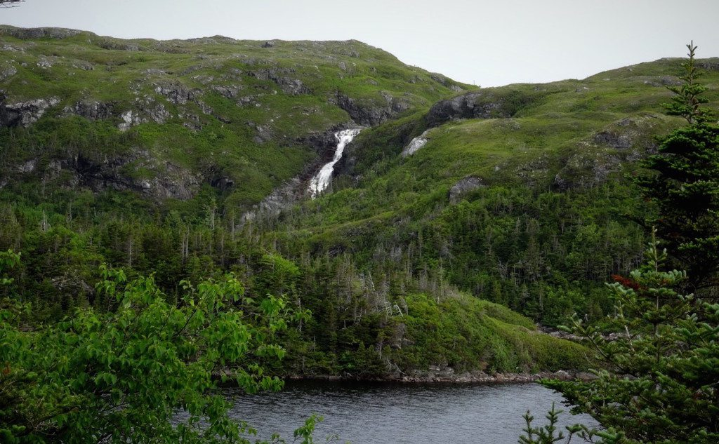 Waterfall on the way to Port Aux Basques