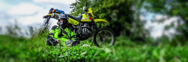 Suzi: The Suzuki DR650 Riding in the Limerick Forest