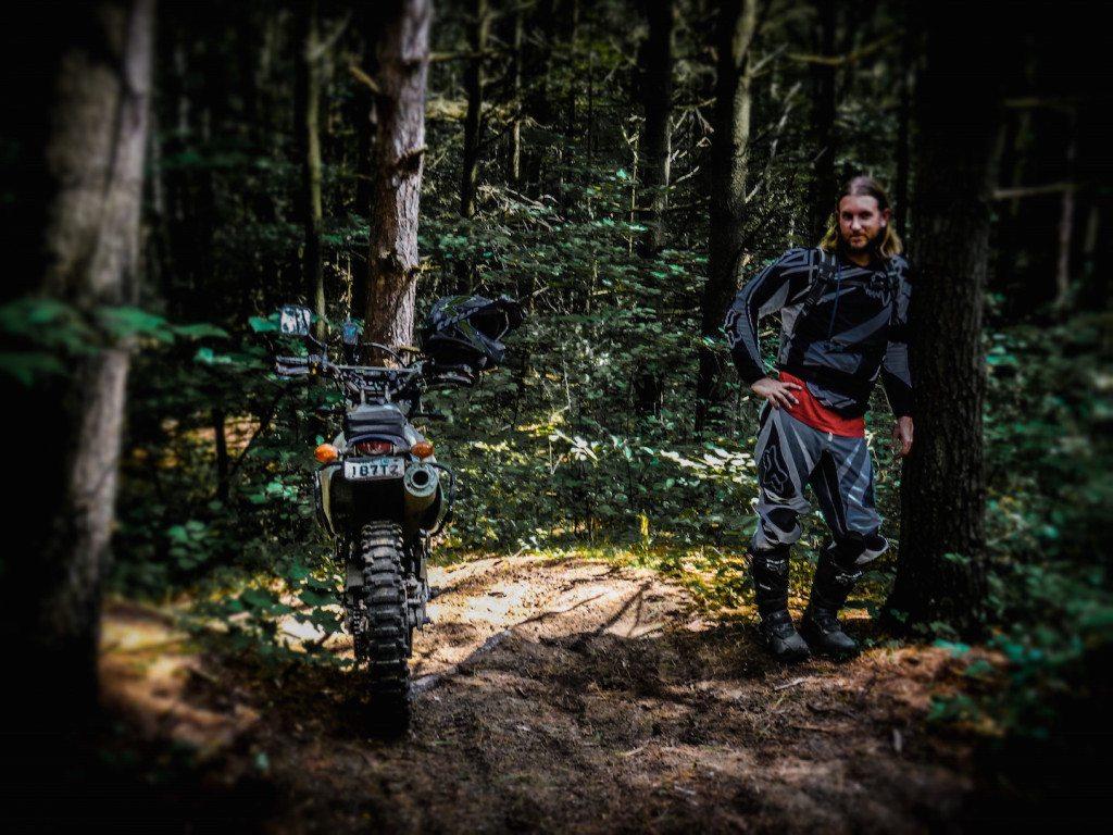Suzuki DRZ 400 Limerick Forest Trail