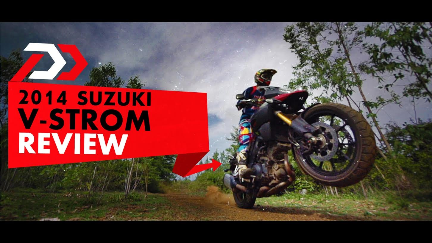 Suzuki V-Strom Video Review