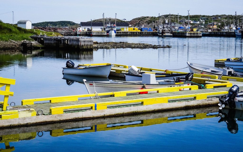 Twillingate Harbour Newfoundland Dock