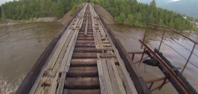 Crossing the Vitim Bridge