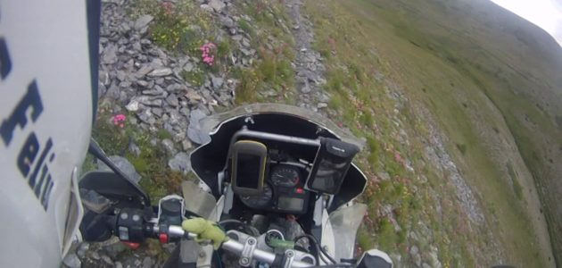 Intense Ride On A BMW Adventure Motorcycle (R 1200 GS)