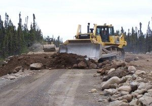 Trans labrador highway construction