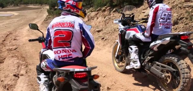 New Africa Twin Video