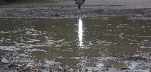 Puddle Skippin' on a DR650