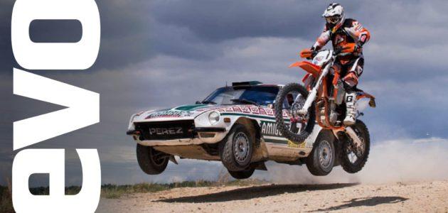 Wanna Go Fast? KTM 450 EXC vs Datsun 240Z vs Evo VI
