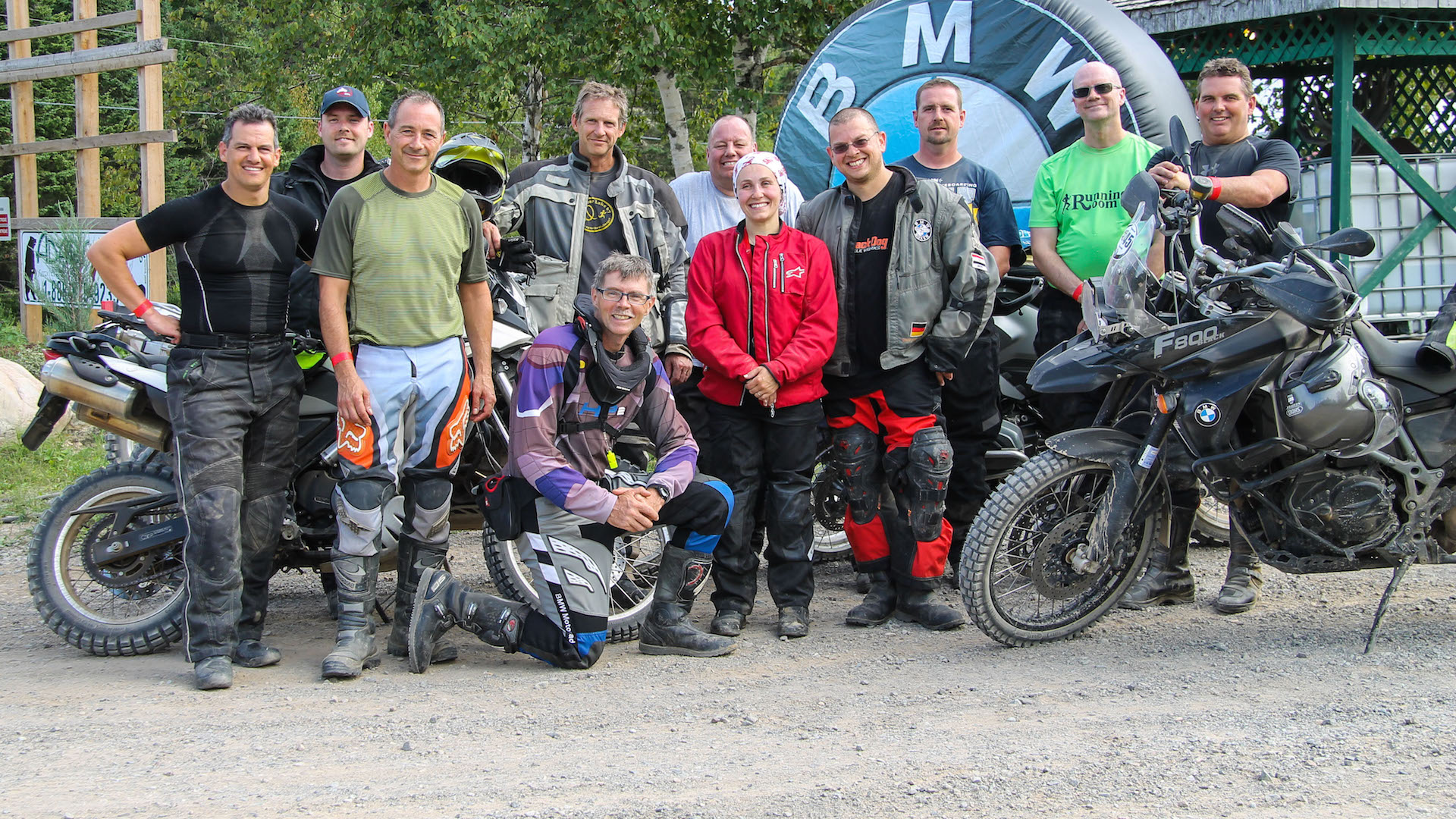 Graduates of the Clinton Smout Rider Training School held on Thursday