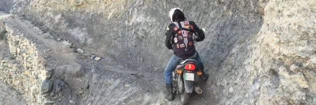 70 year-old Aussie Riding a Honda CG Dream in Pakistan