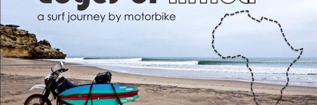 Surf & Turf on a Suzuki DR650 in Africa