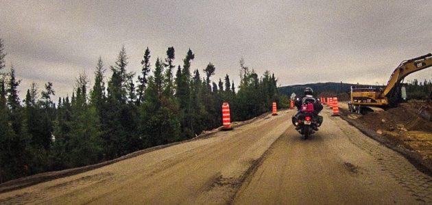 Honda Goldwing Motorcycle on Trans-Lab