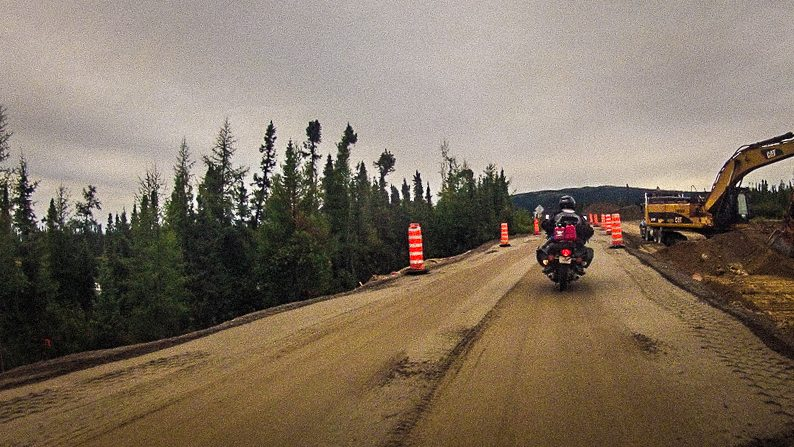 Crossing The Trans-Lab on Goldwings