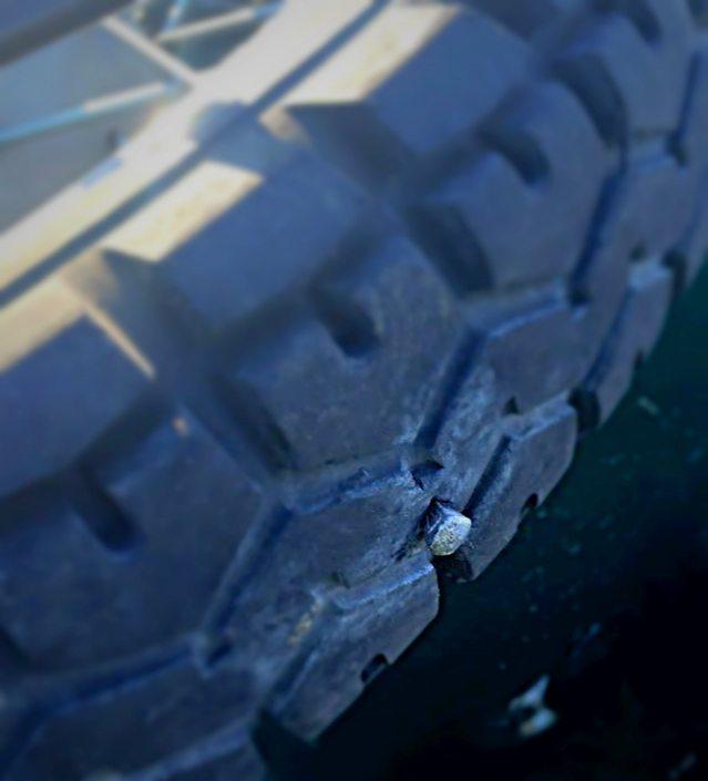 Ural motorcycle tire