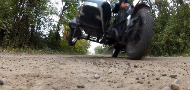 A Quick Ride on a DR650 and a Ural