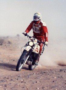 1979 - XT 500 Comte first Dakar Rally