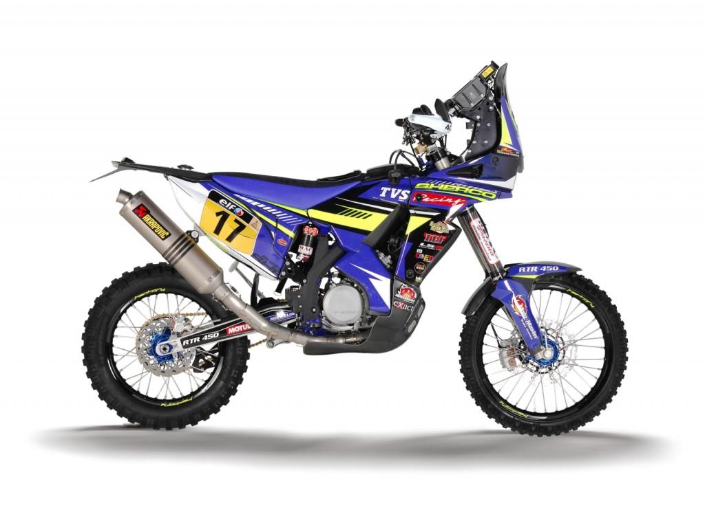 Sherco TVS Dakar Rally