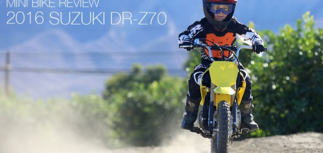 Five Year Old Rides and Reviews 2016 Suzuki DR-Z70