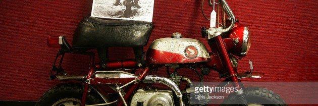 John Lennon's 75th Birthday – A Trike and a Honda Monkey Bike