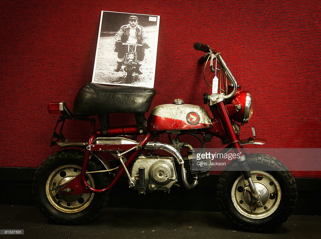 John Lennon's 75th Birthday – A Trike and a Honda Monkey Bike