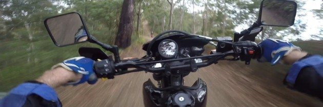 Bush Bashing a Stock Suzuki DR650 – Part One