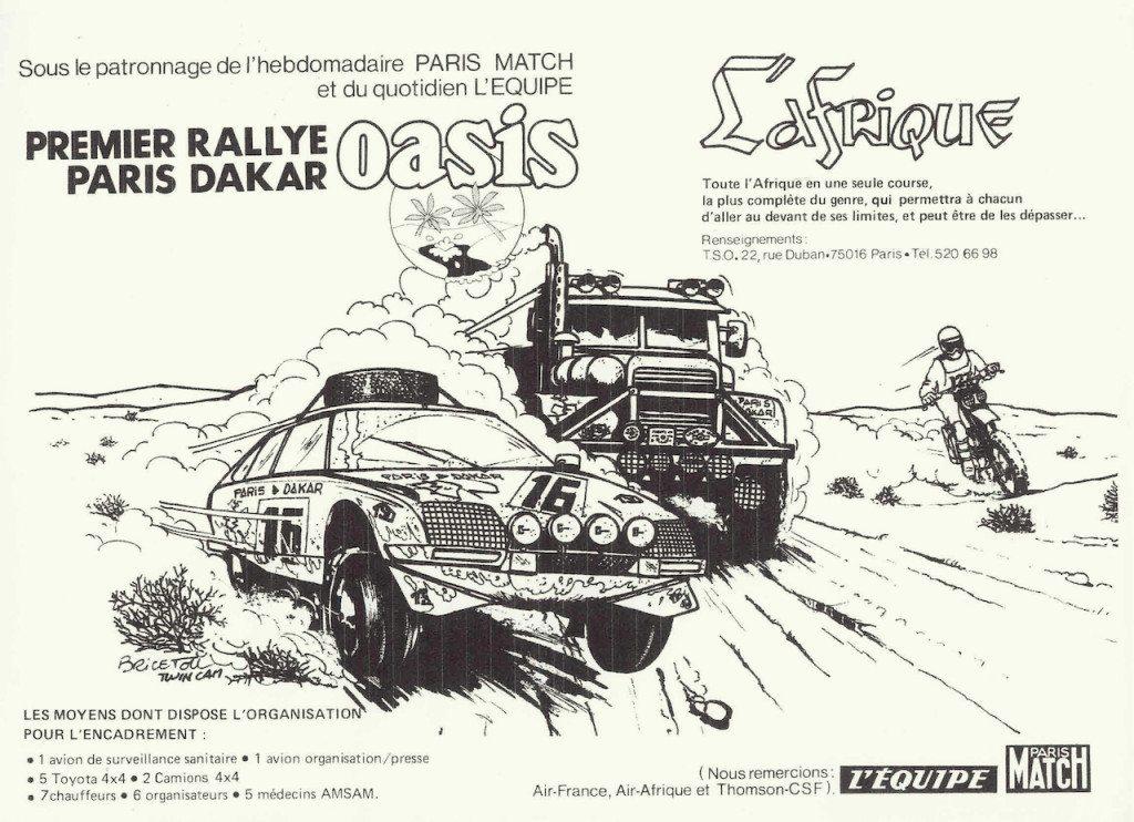 first Dakar Rally