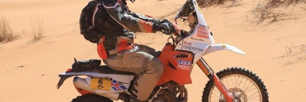 What is a WATER CARRIER in the Dakar Rally?