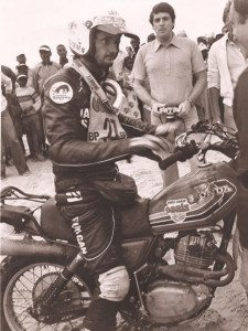 Phillipe Vassard - Honda 250XLS - first Dakar Rally