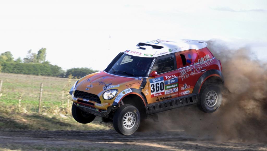 Photo: rfi. fr Dakar prologue accident