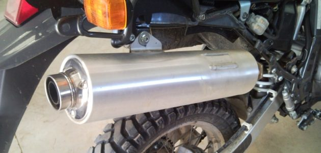 Modifying your DR650 Exhaust - Adventure OZ Series