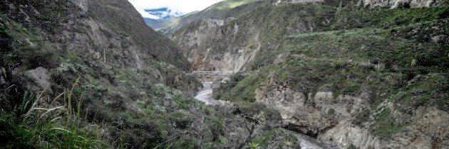 Riding the Guayllabamba River Canyon