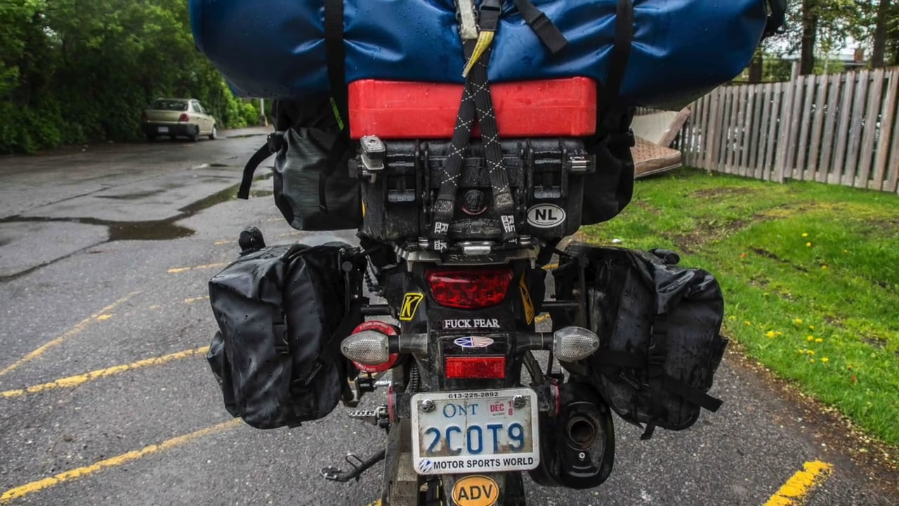 Packing for a 15000 km Motorcycle Adventure