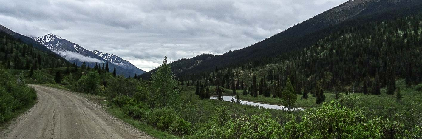 Riding South Canol Road: Pay Attention To The Weather