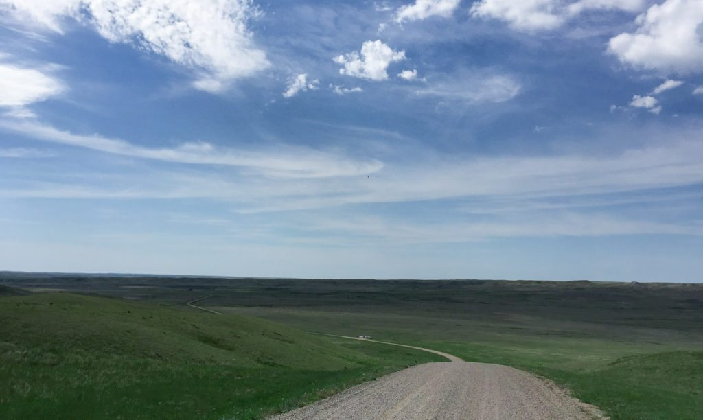 Ecotour Road, Grassland National Park, Canada, motorcycle adventures, advjoe