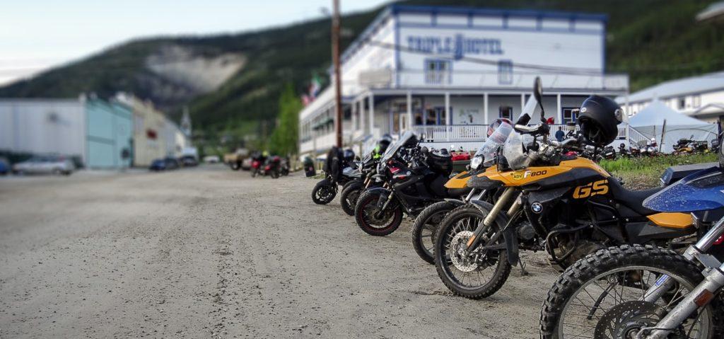 Dust to Dawson 2017, Dawson City Yukon the Triple J Hotel