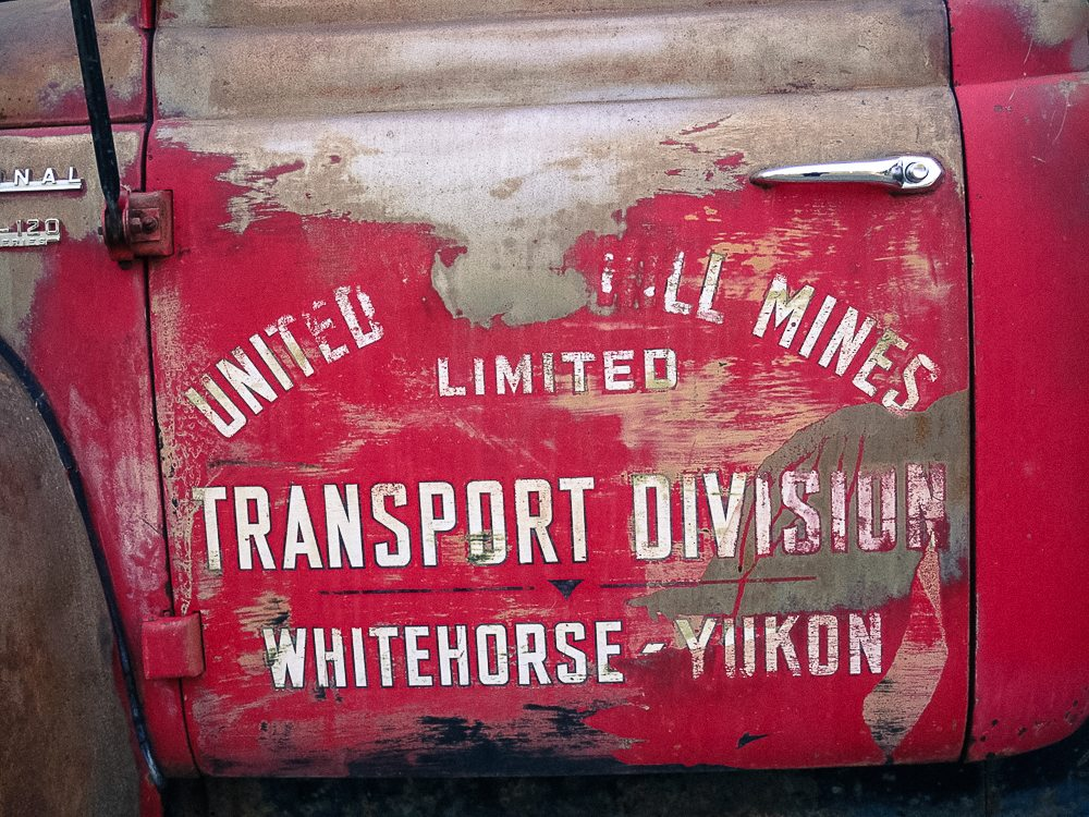 Old and faded pickup truck - Harvester International 5-120 Pickup