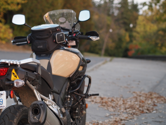 VStrom fall colors and the Ottawa Valley