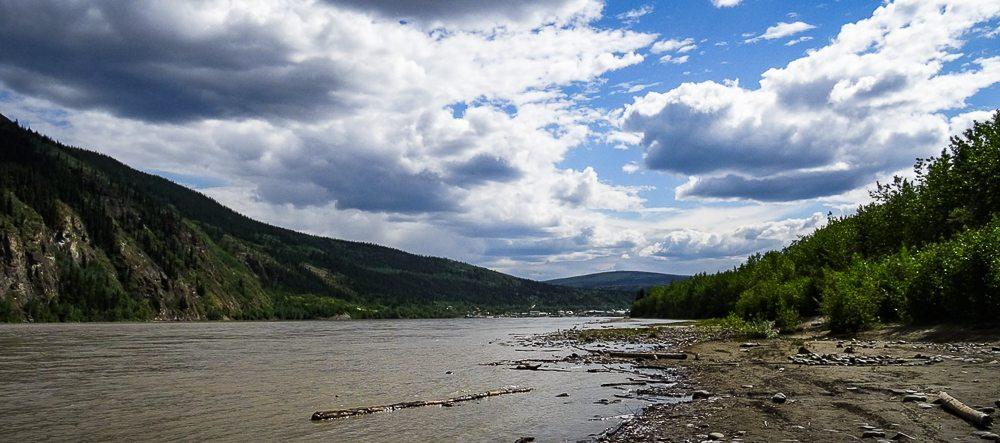Dawson City on The Yukon River