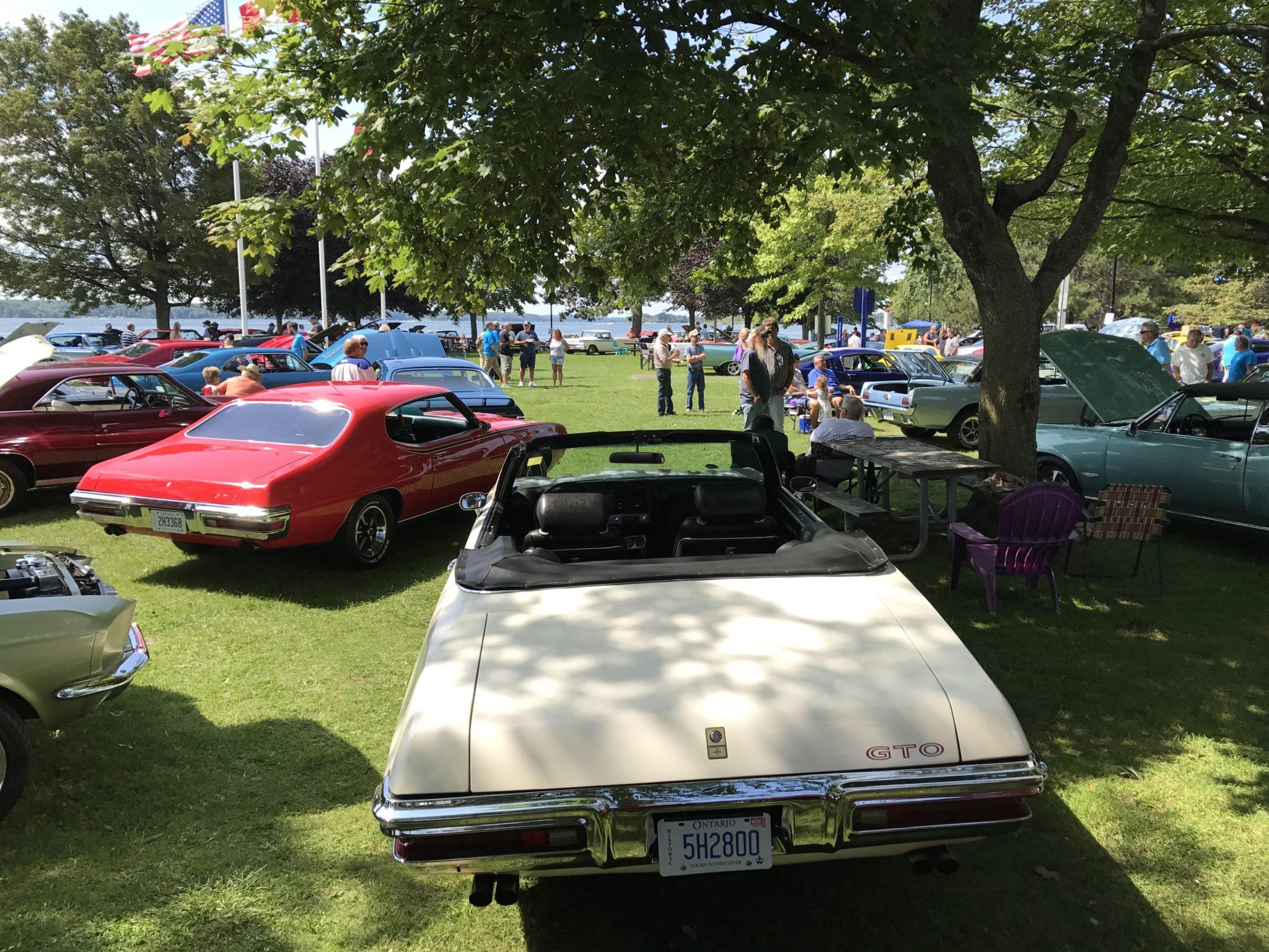 Several Pontiac GTO's 1965 to 1972 Brockville Ontario