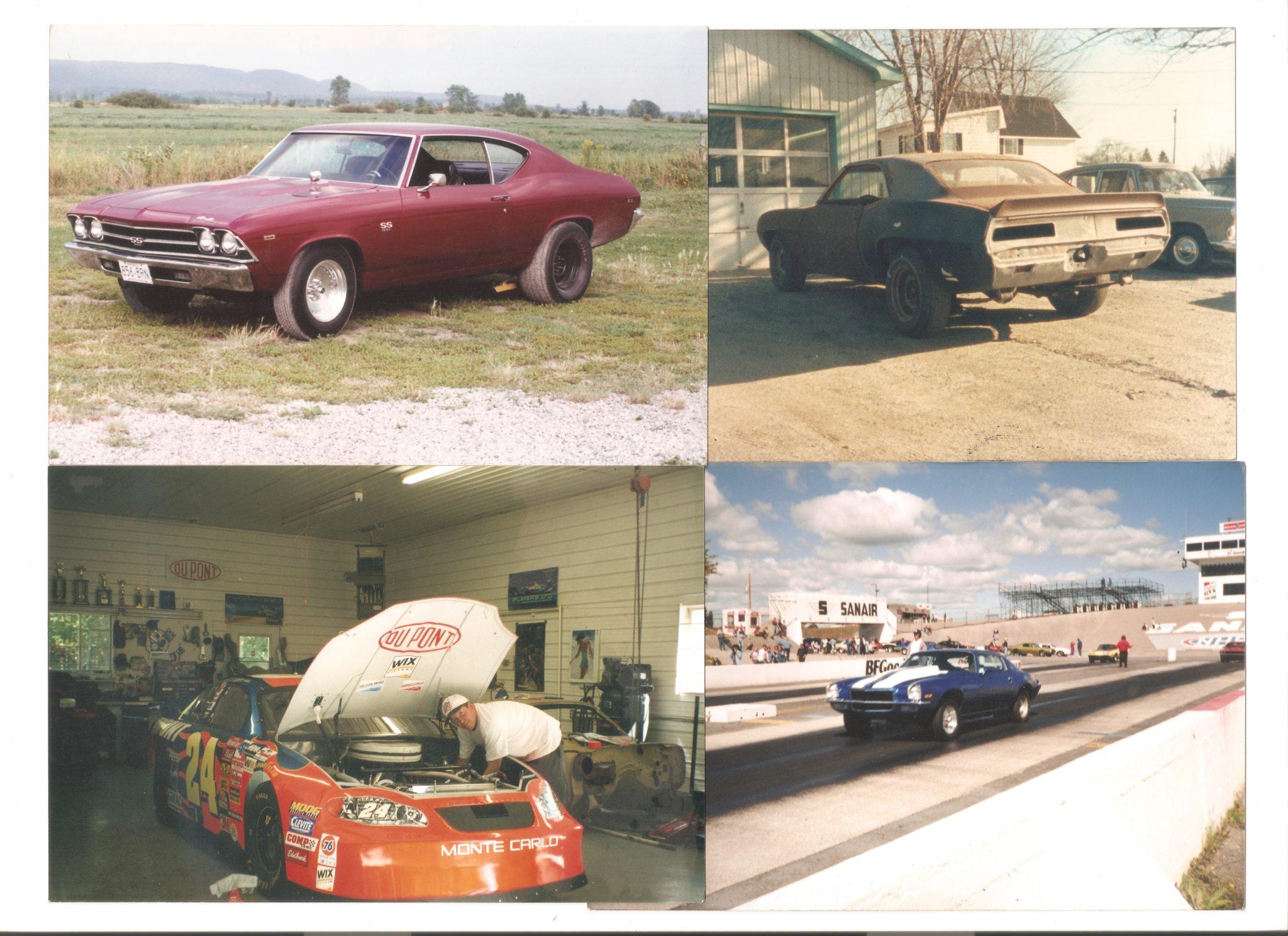 1969 Chevelle SS 1971 Camaro 1969 Camaro SS/RS Jeff Gordon Dupont